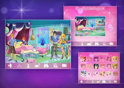 Winx Party App - Melazeta srl - Gamification App Mobile Game Giochi Advergame