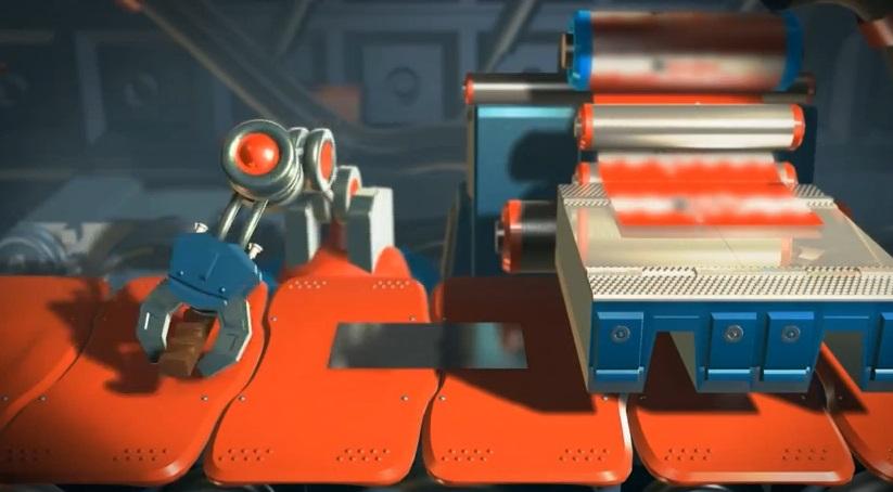 """Kidzania"" Kinder Chocolate Factory Simulation"