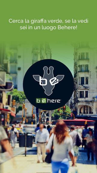 Be Here App -Melazeta srl - Gamification App Mobile Game Giochi Advergame